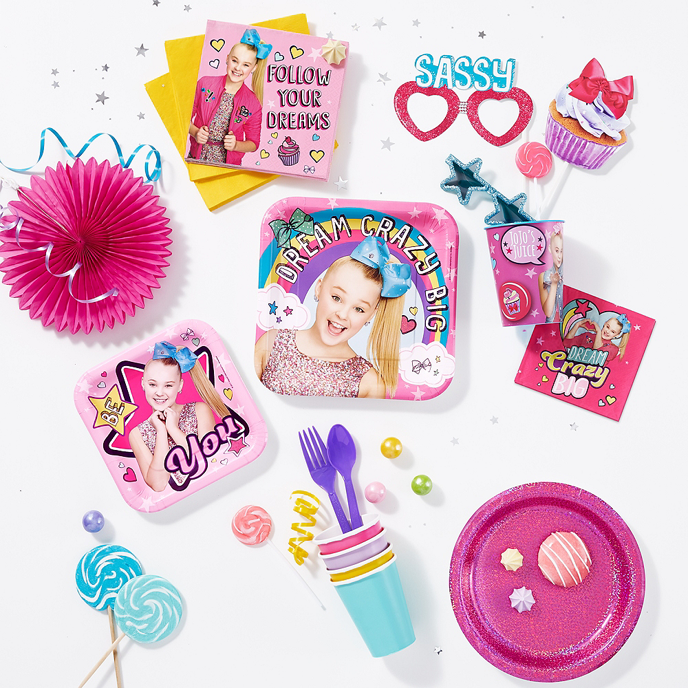 JoJo Siwa Photo Booth Props 12pc Image #2