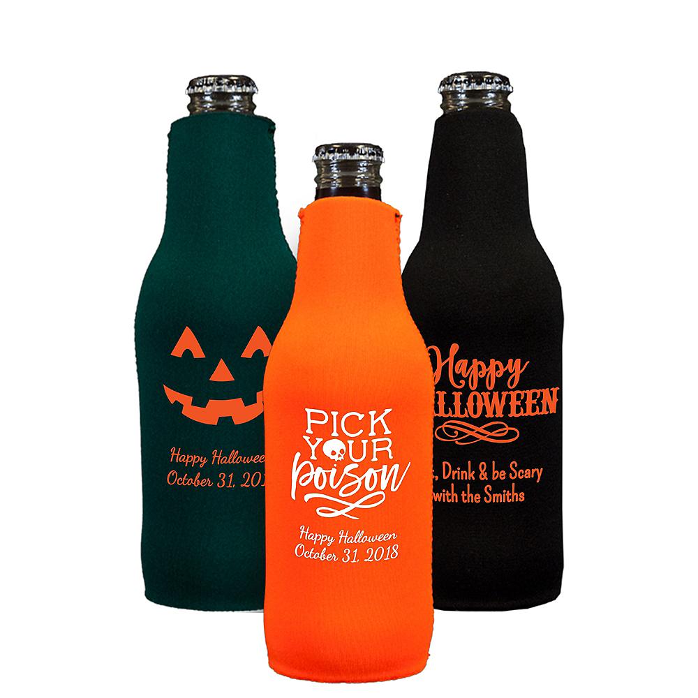 Personalized Halloween Bottle Huggers Image #1
