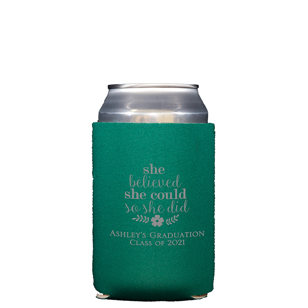 Personalized Graduation Collapsible Can Coozies  Image #1