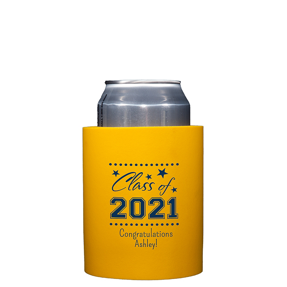 Personalized Graduation Can Coozies    Image #1