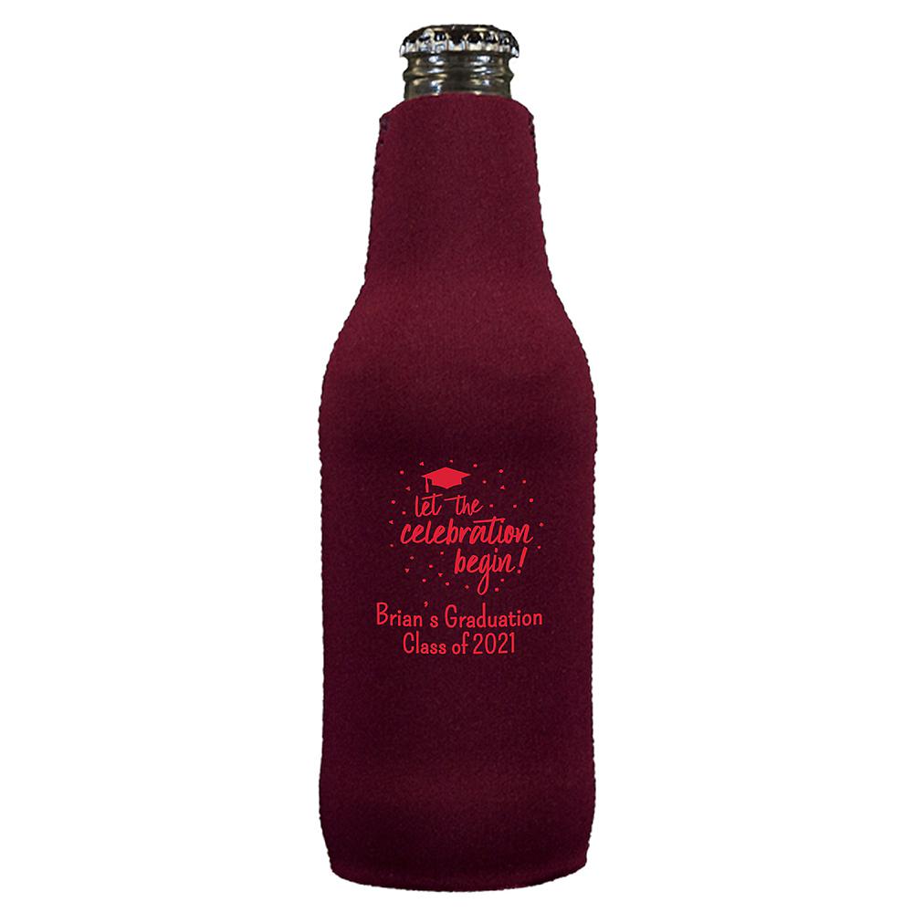 Personalized Graduation Bottle Huggers  Image #1