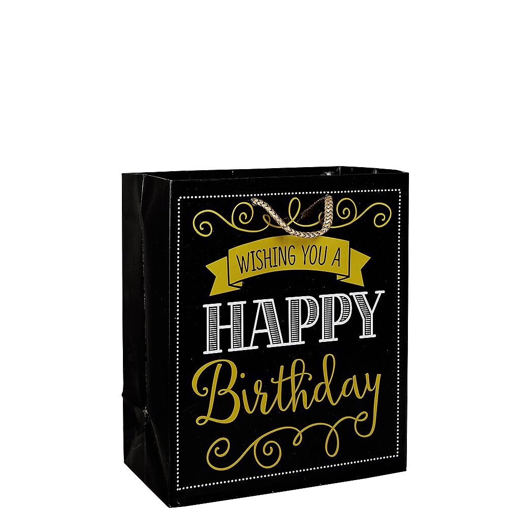 Elegant Wishing You A Happy Birthday Gift Bag Image #1