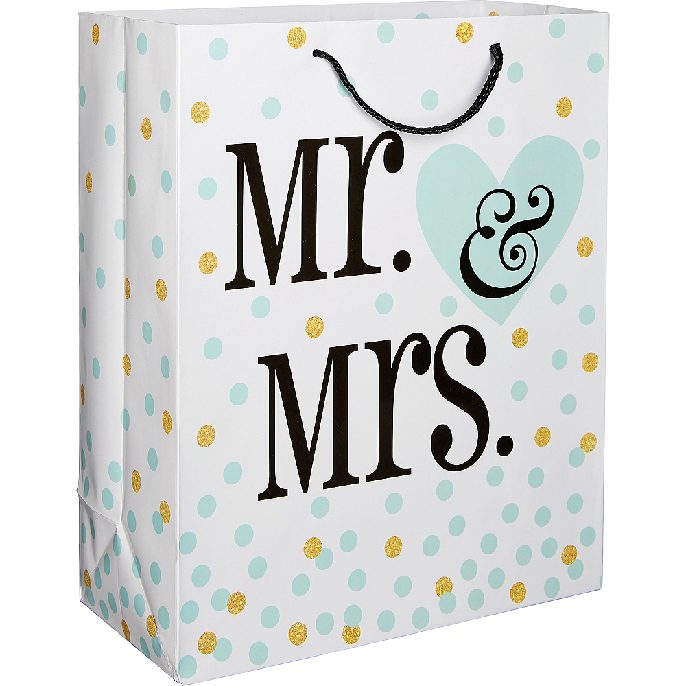 Mr. & Mrs. Gift Bag Image #1