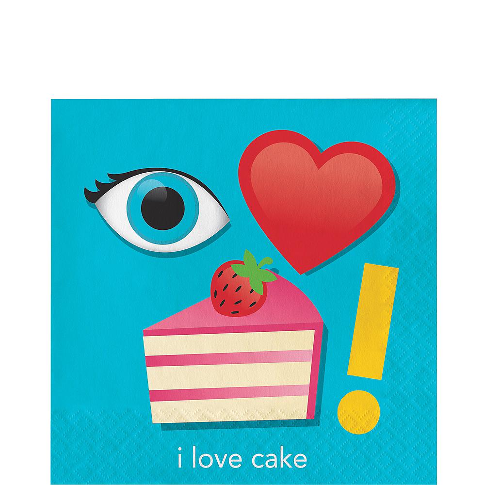 I Love Cake Lunch Napkins 16ct Image #1