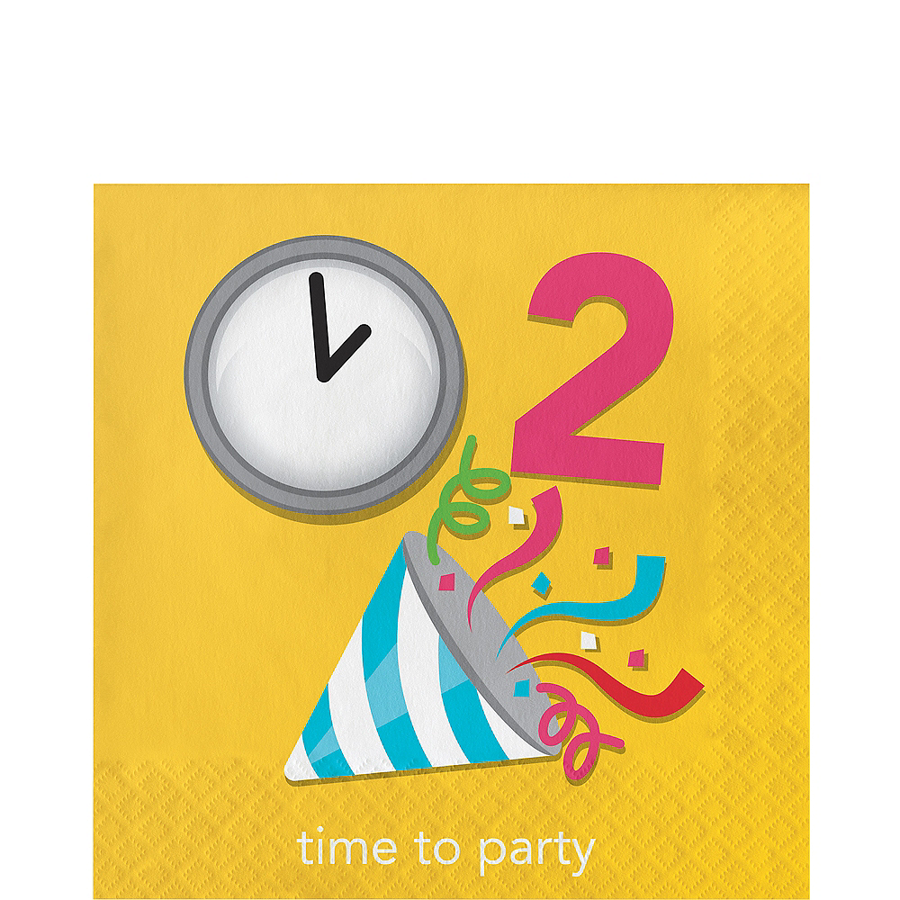 Time To Party Lunch Napkins 16ct Image #1