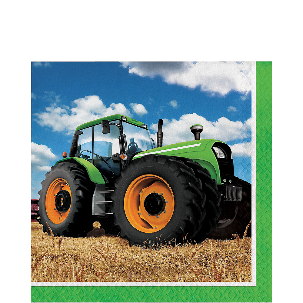 Tractor Lunch Napkins 16ct Image #1