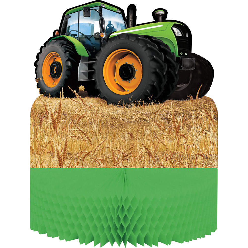 Nav Item for Tractor Honeycomb Centerpiece Image #1