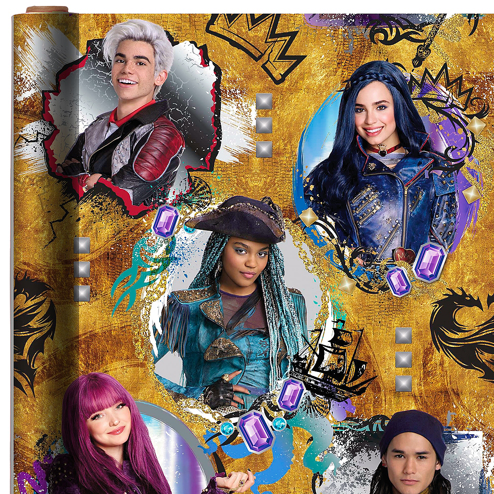 Descendants 2 Gift Wrap Image #1