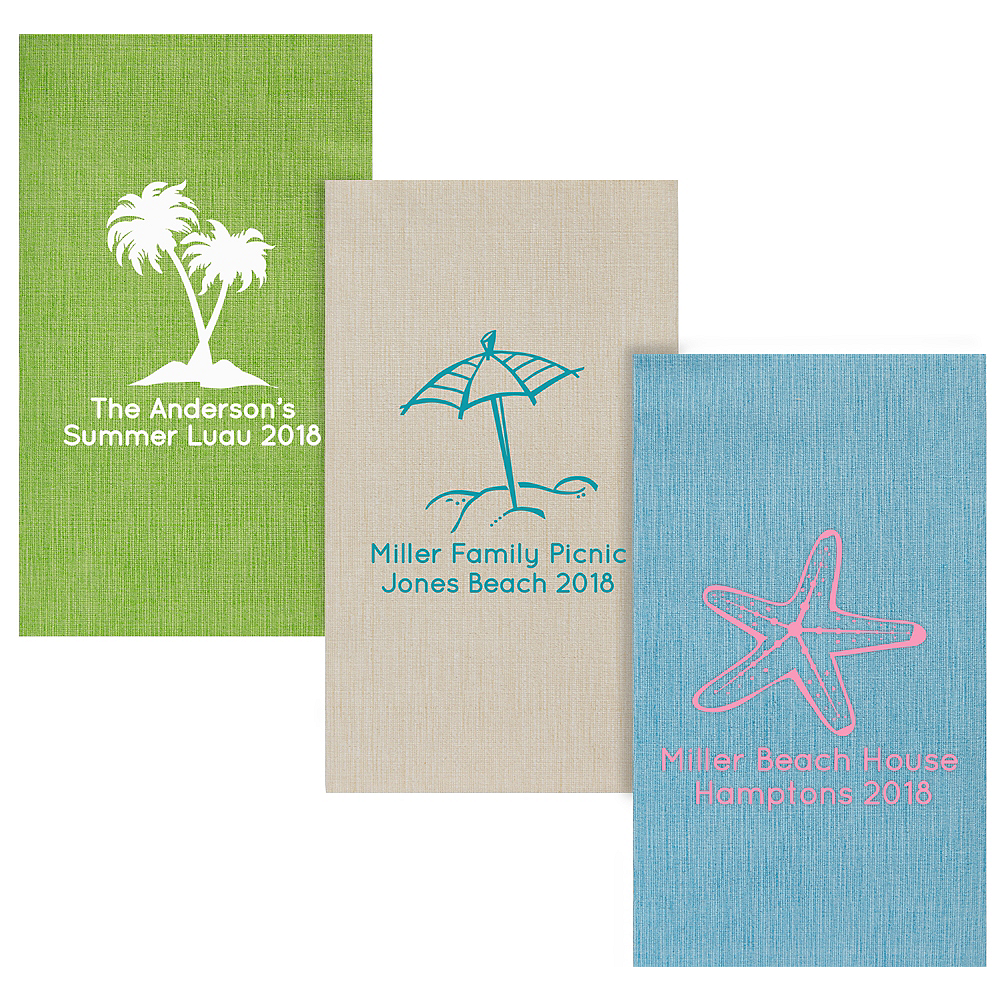 Personalized Summer Bella Guest Towels Image #1