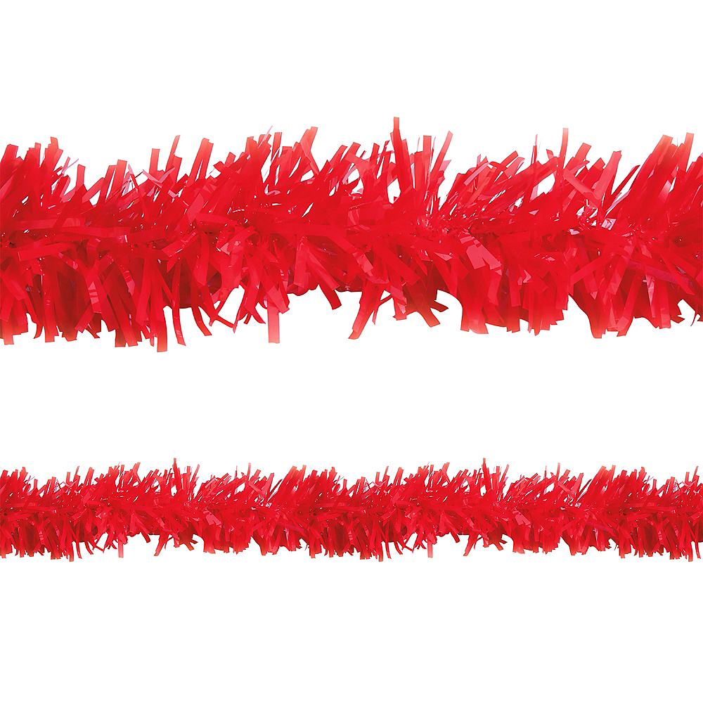 Red Twisted Fringe Garland Image #1