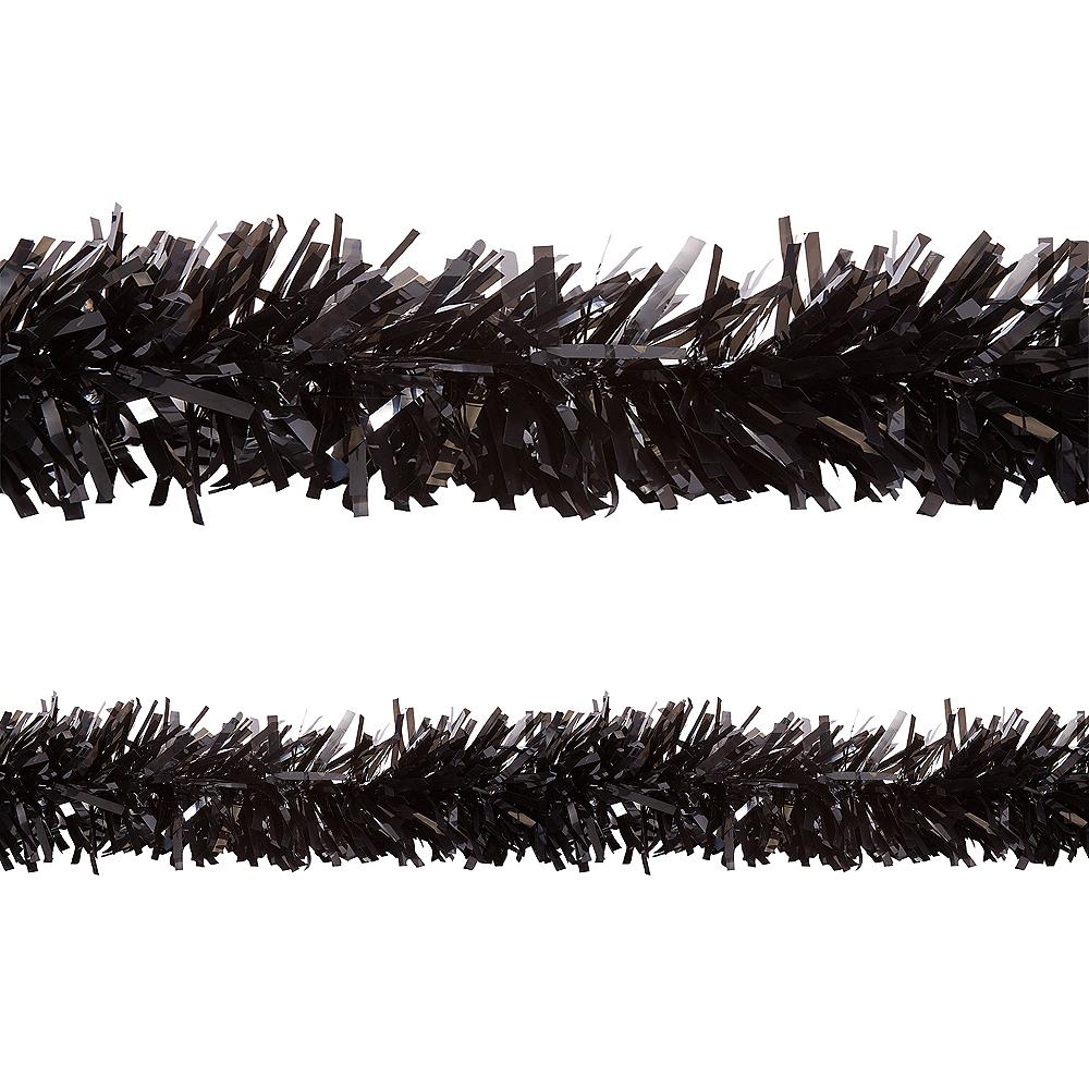 Black Twisted Fringe Garland Image #1