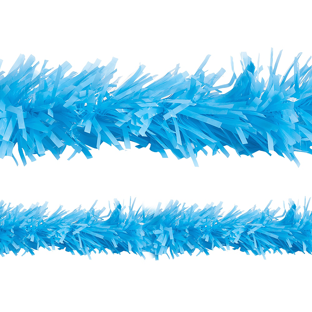 Light Blue Twisted Fringe Garland Image #1