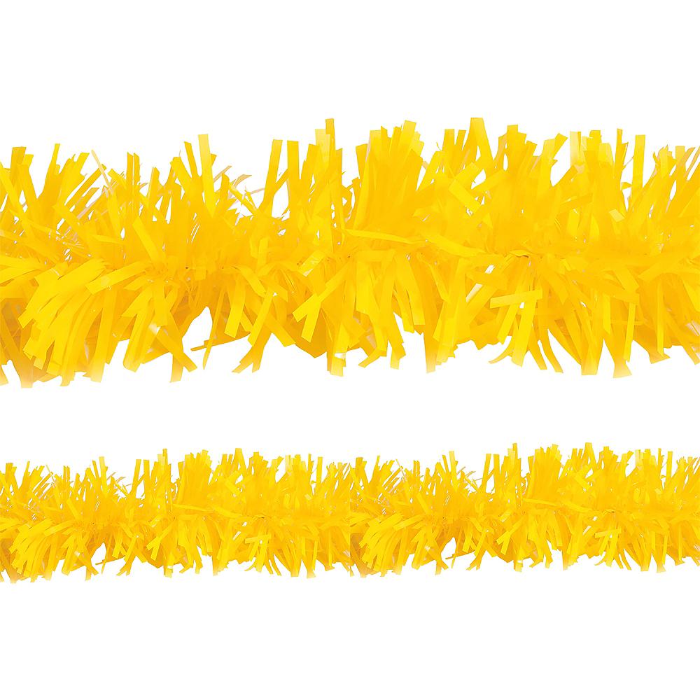 Yellow Twisted Fringe Garland Image #1