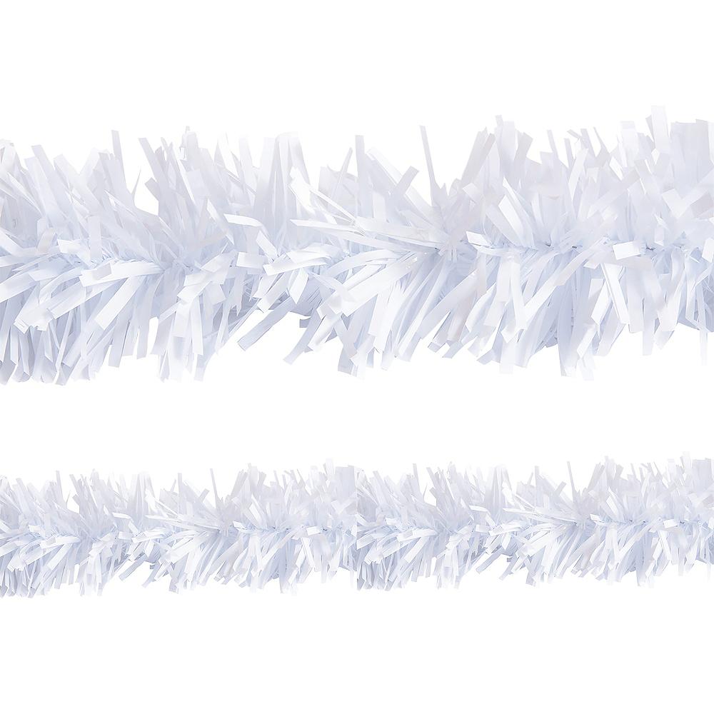 White Twisted Fringe Garland Image #1