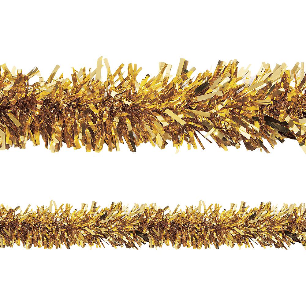 official photos 8e163 10e27 Metallic Gold Twisted Tinsel Garland