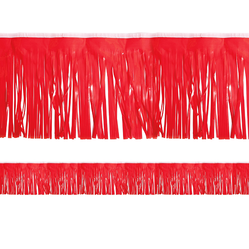 Red Fringe Decoration Image #1