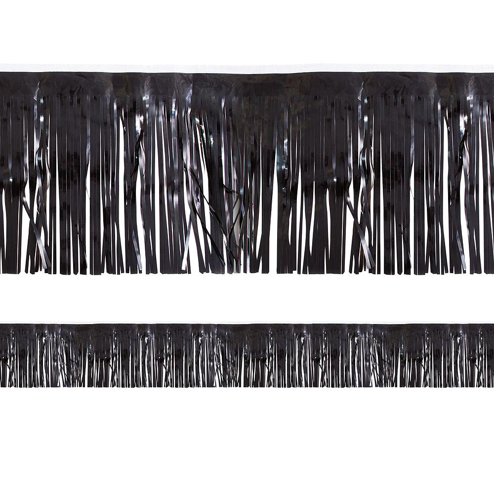 Black Fringe Decoration Image #1