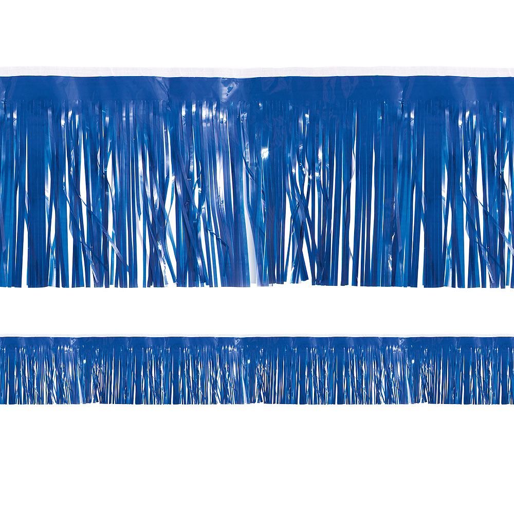 Dark Blue Fringe Decoration Image #1