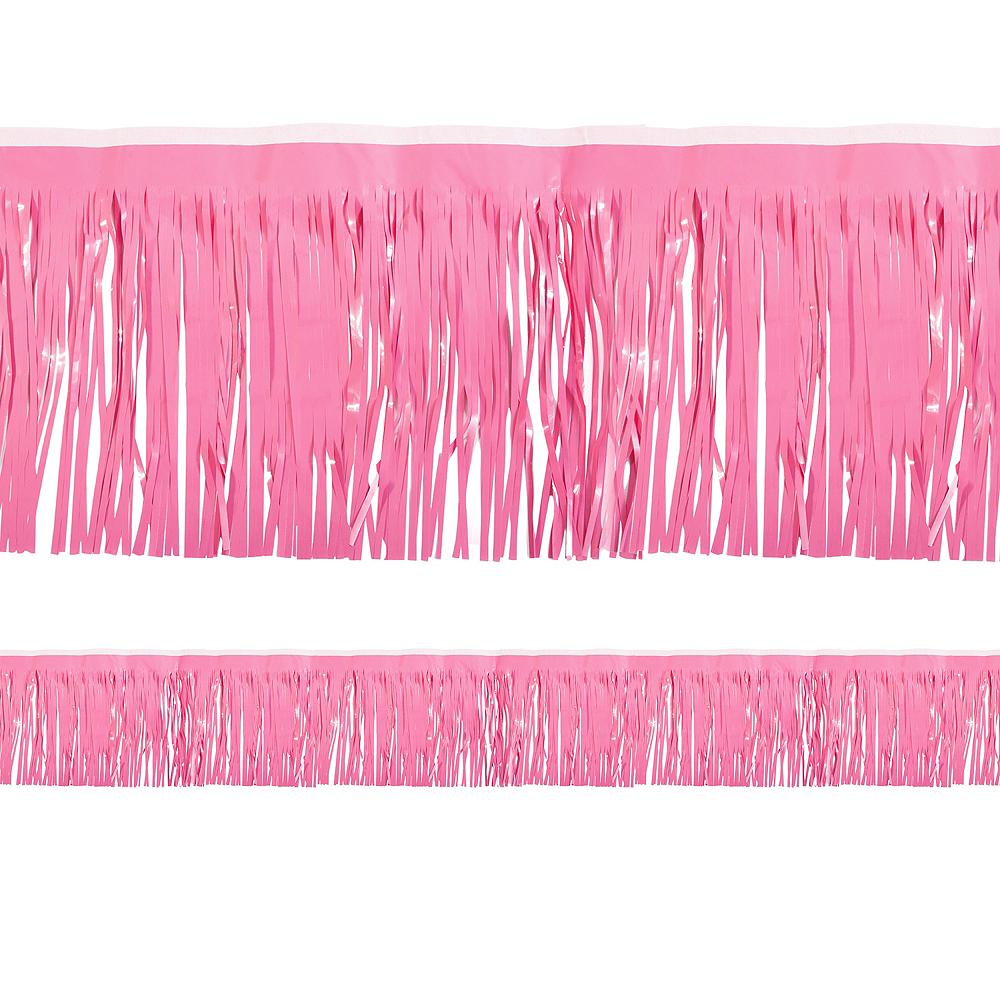 Bright Pink Fringe Decoration Image #1