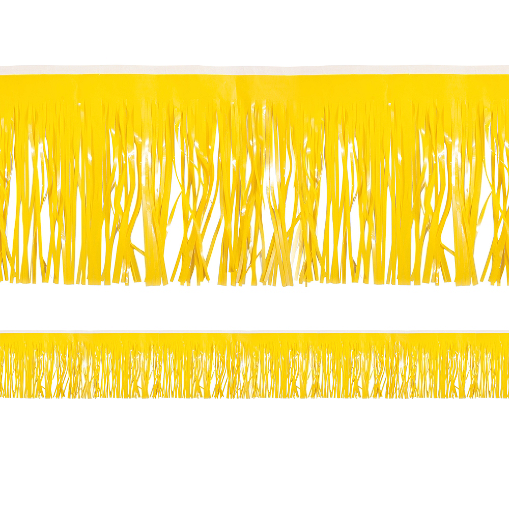 Nav Item for Yellow Fringe Decoration Image #1