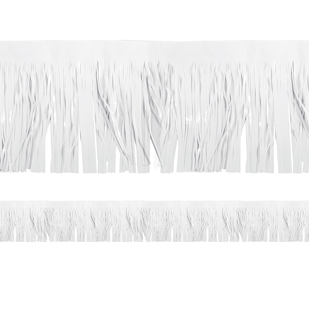 Nav Item for White Fringe Decoration Image #1