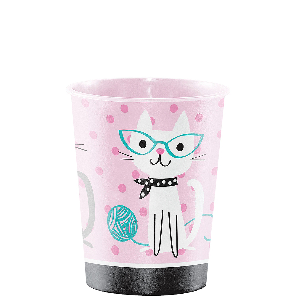 Purrfect Cat Favor Cup Image #1