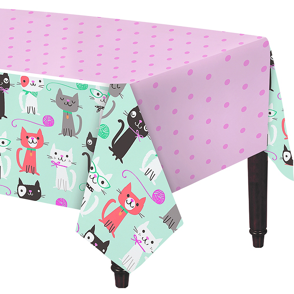 Purrfect Cat Table Cover Image #1