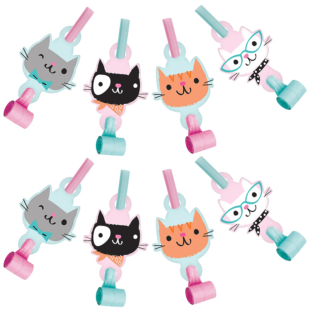 Purrfect Cat Blowouts 8ct Image #1