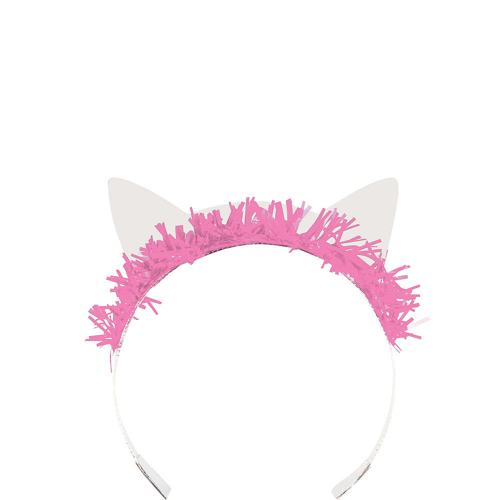 Purrfect Cat Tiara Headbands 8ct Image #1