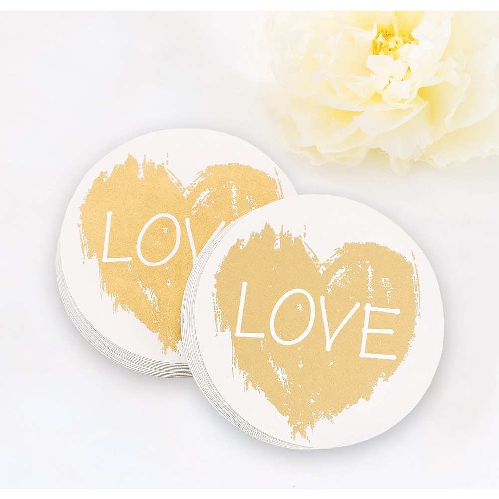 Brush of Love Coasters 25ct Image #1