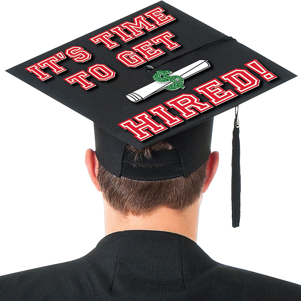 Nav Item for Hired Graduation Cap Decorating Kit Image #2
