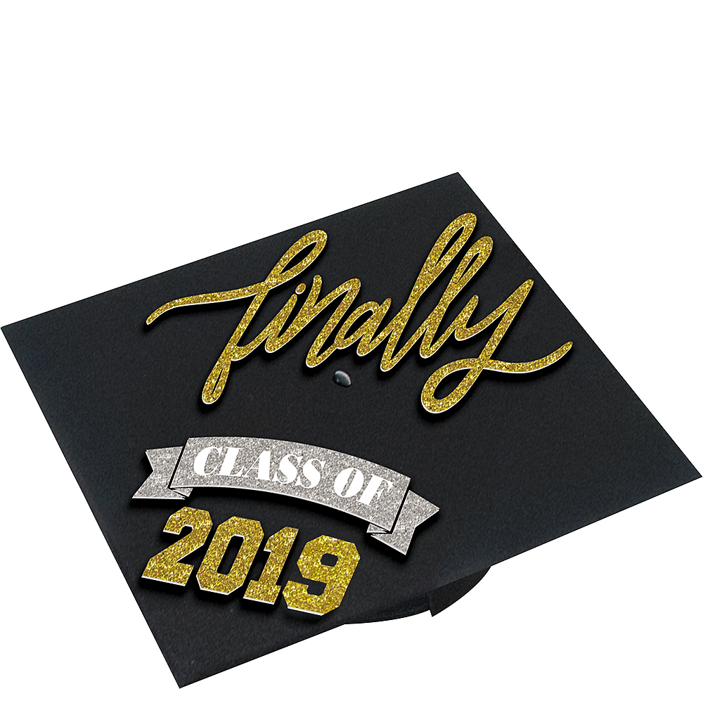Class Of 2019 Graduation Cap Decorating Kit Party City