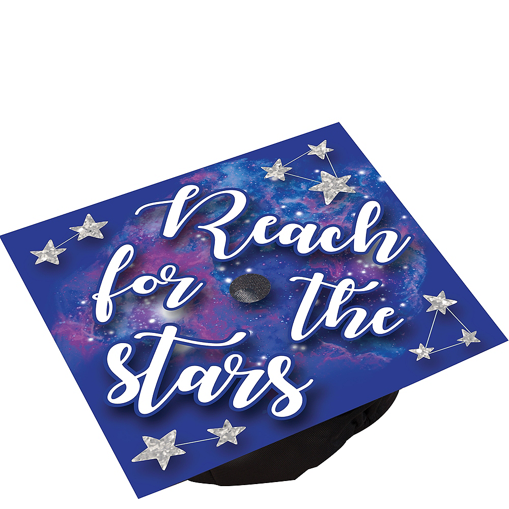 Reach For The Stars Graduation Cap Topper Image #1