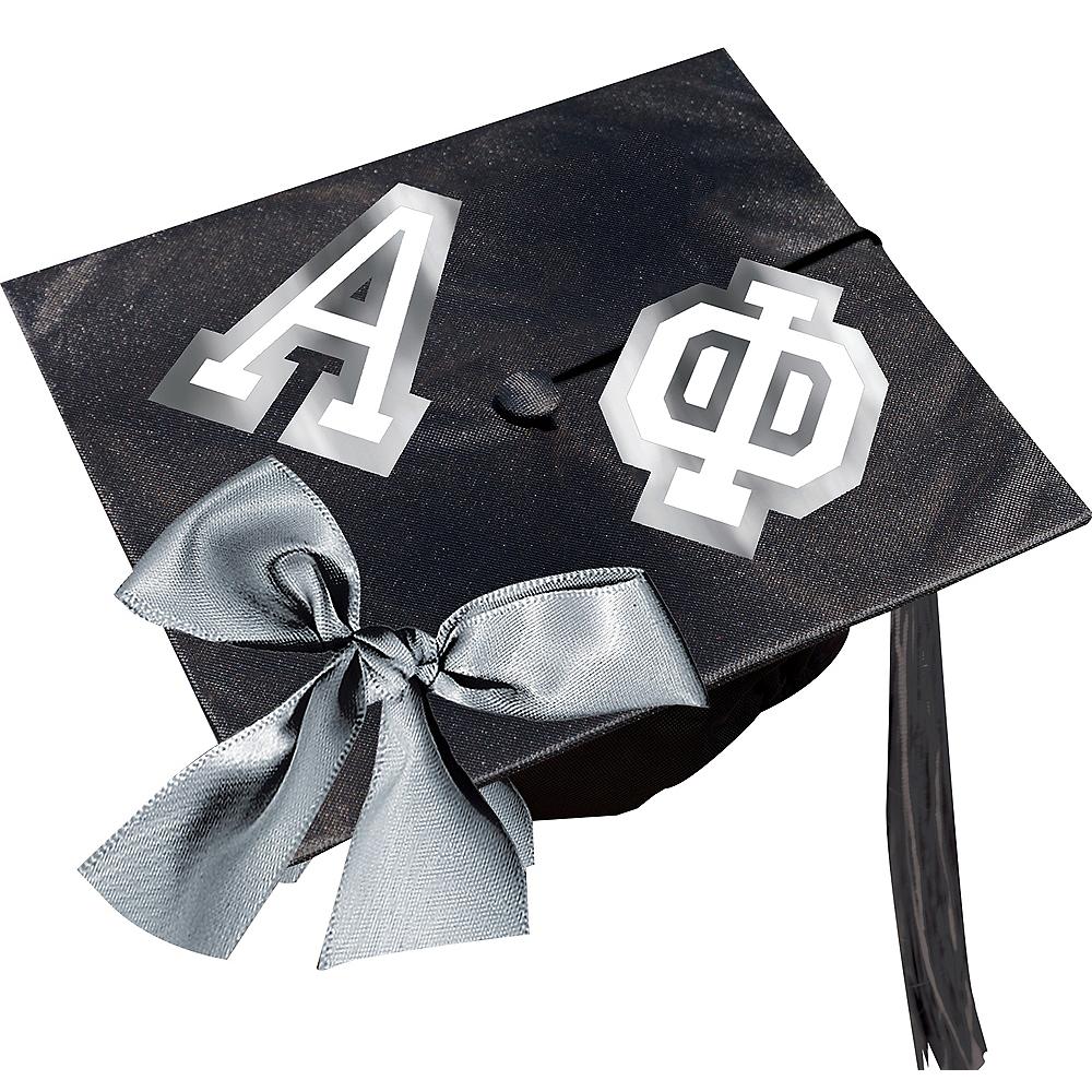 Graduation Cap Letter Decorating Kit Image #1
