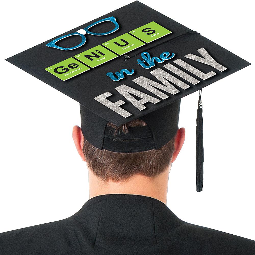 Genius In The Family Graduation Cap Decorating Kit Image #2