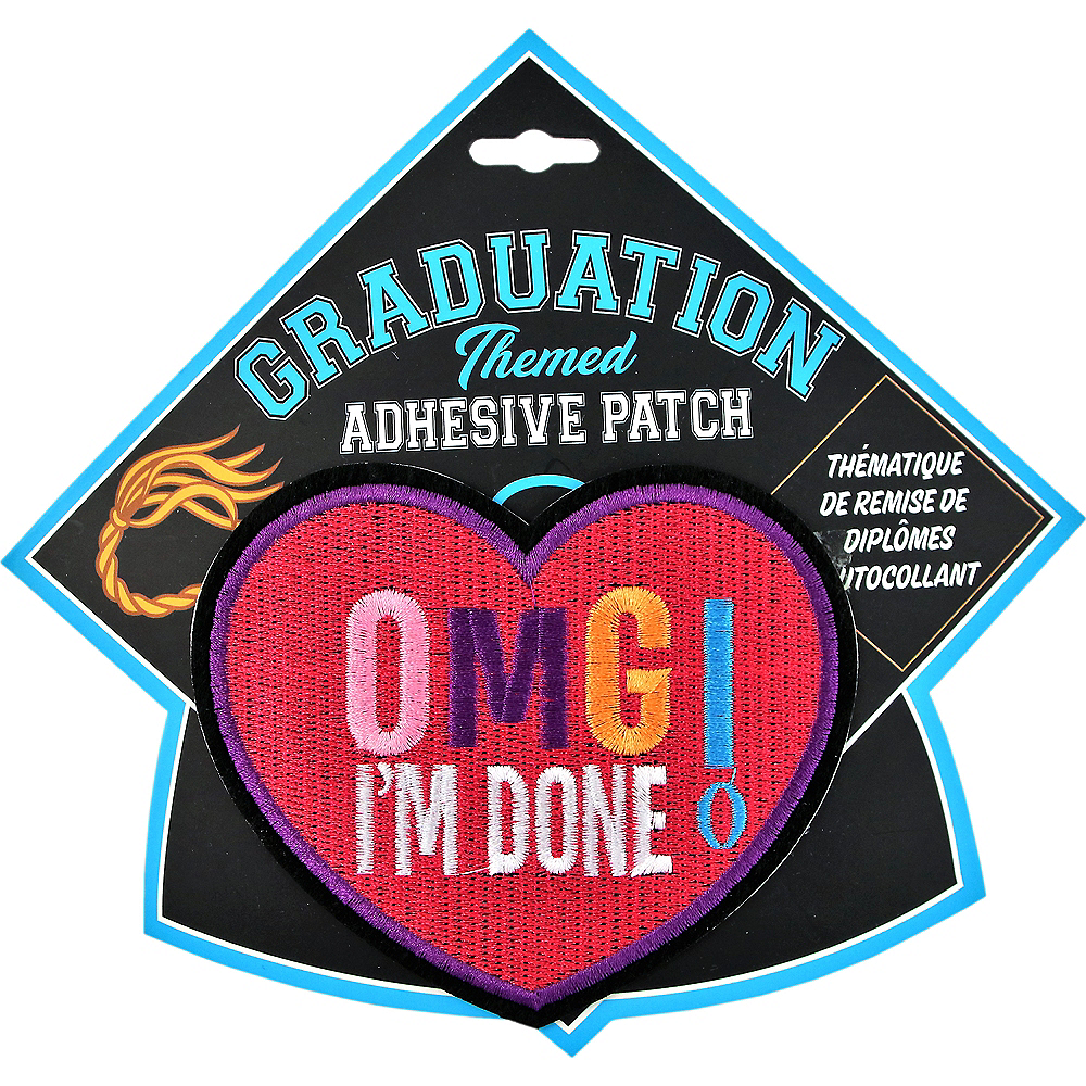 I'm Done Graduation Adhesive Patch Image #1