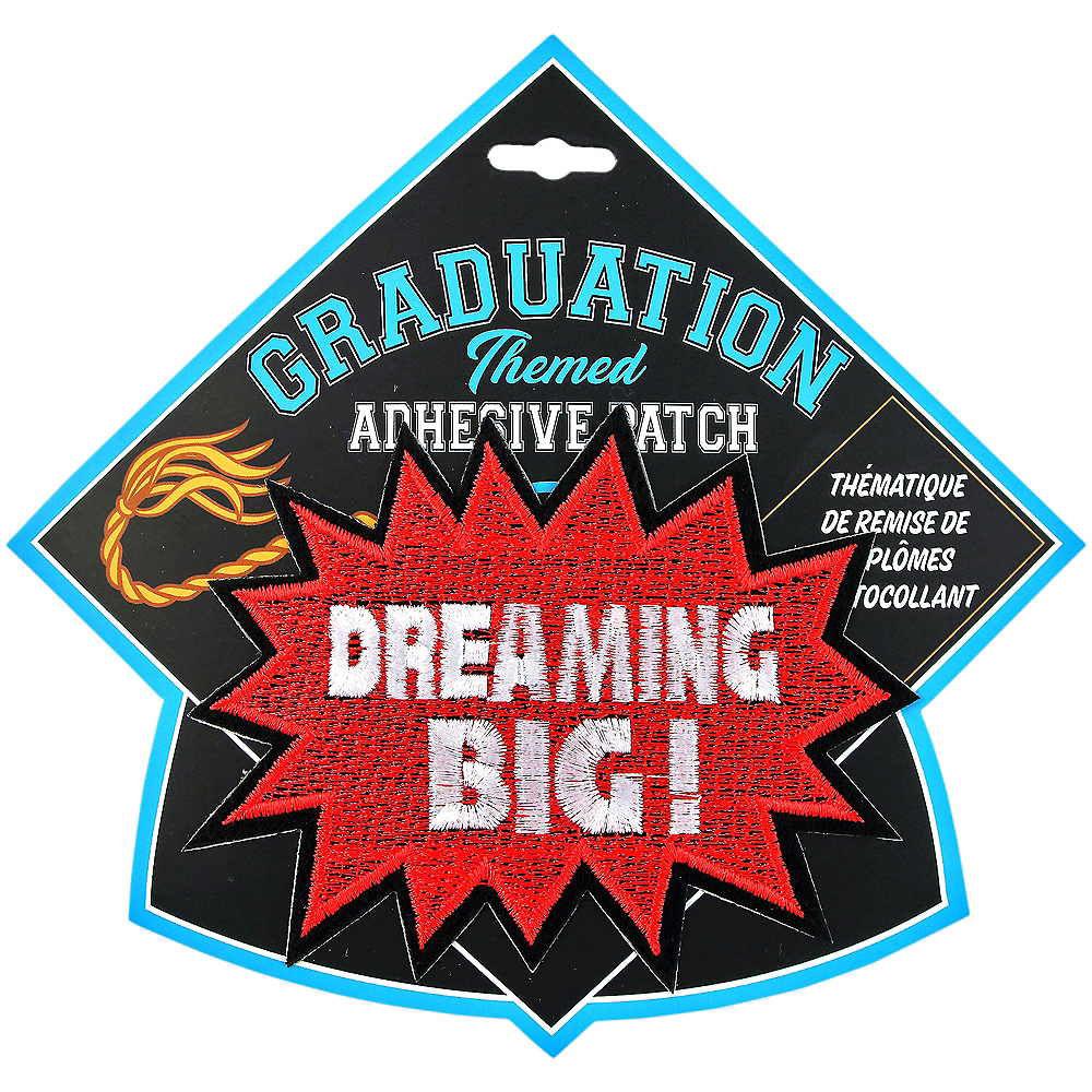 Dreaming Big Graduation Adhesive Patch Image #1
