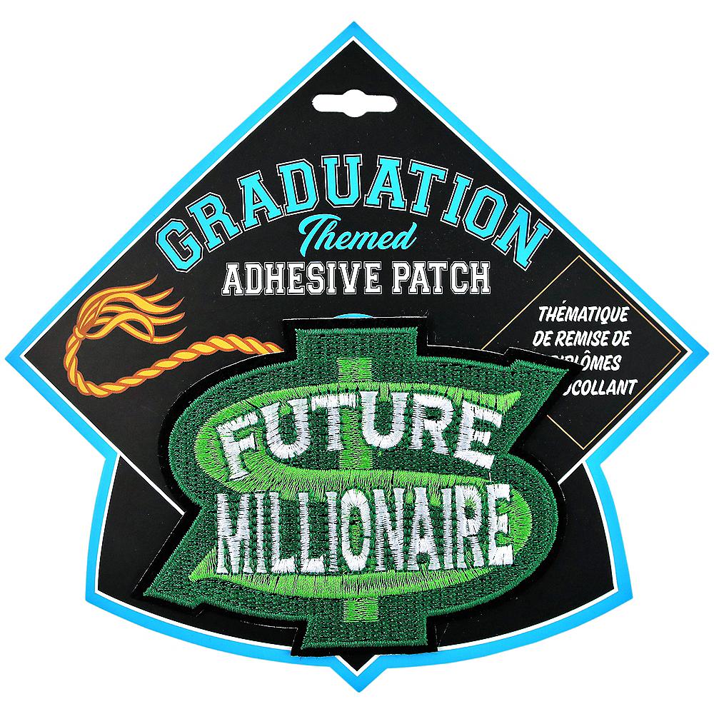 Future Millionaire Graduation Adhesive Patch Image #1