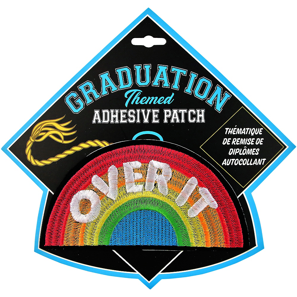 Over It Graduation Adhesive Patch Image #1