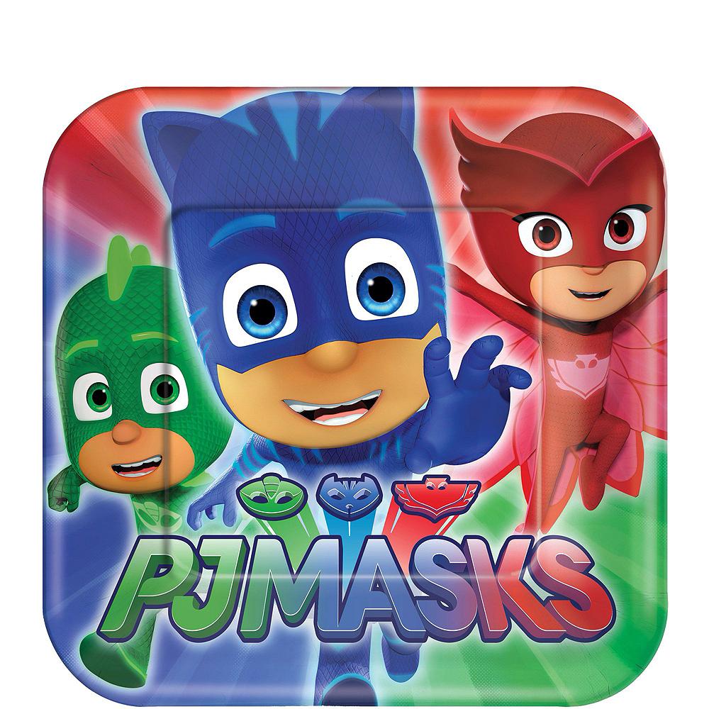 PJ Masks Tableware Party Kit for 8 Guests Image #2