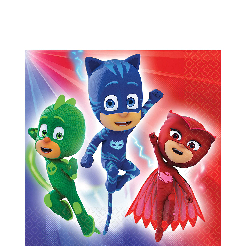 PJ Masks Tableware Party Kit for 16 Guests Image #5