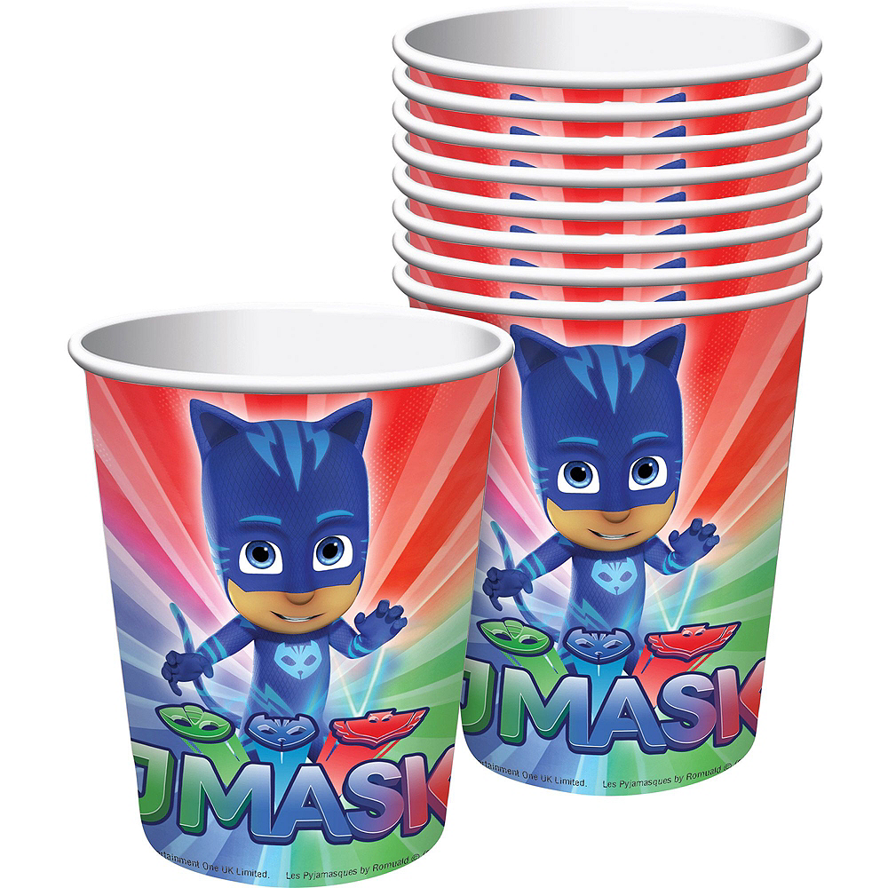 PJ Masks Tableware Party Kit for 16 Guests Image #6