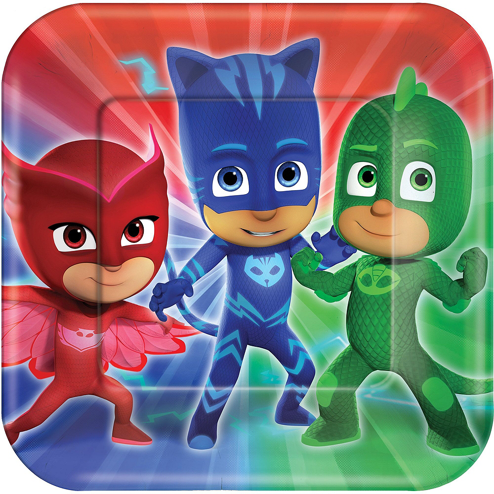PJ Masks Tableware Party Kit for 24 Guests Image #3