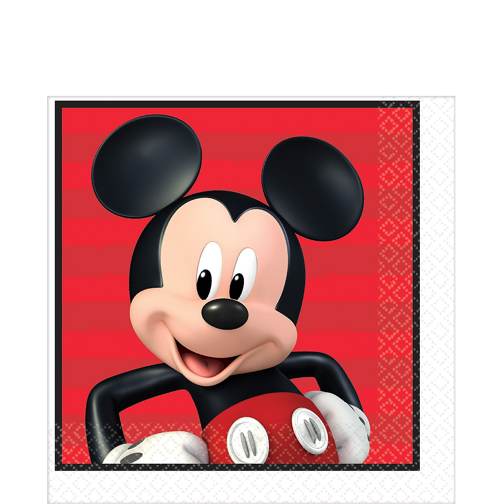 Mickey Mouse Tableware Party Kit for 16 Guests Image #7