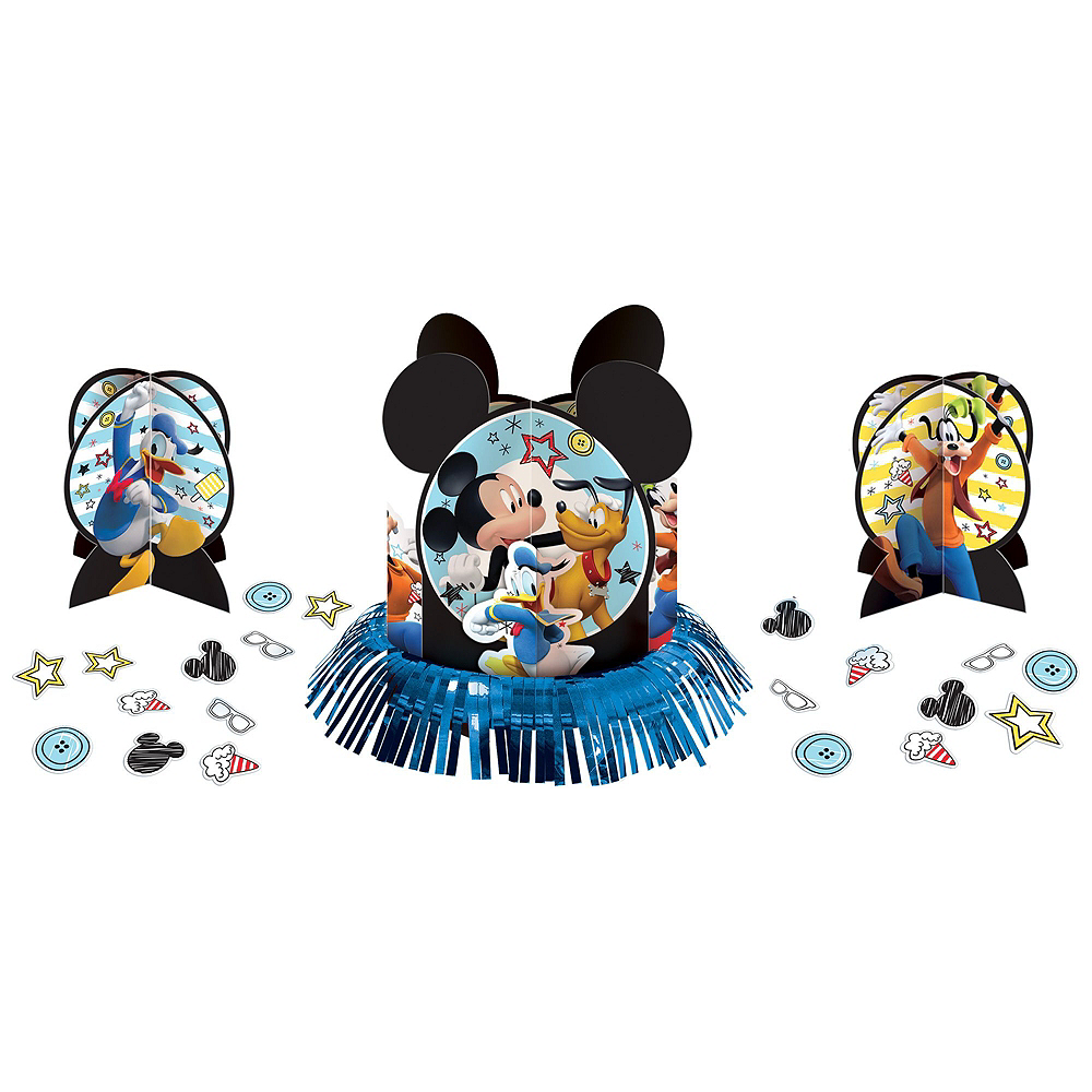 Nav Item for Mickey Mouse Tableware Party Kit for 16 Guests Image #11