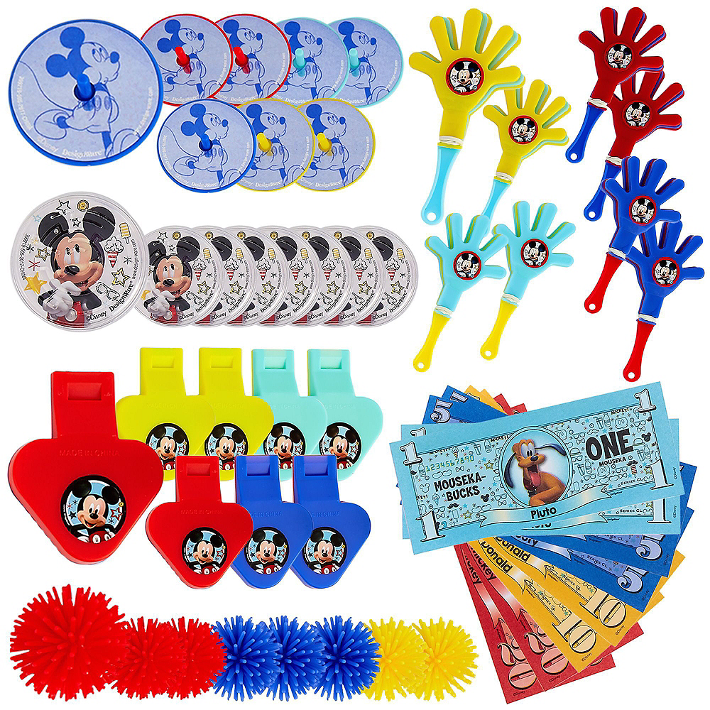 Mickey Mouse Tableware Party Kit for 24 Guests Image #12
