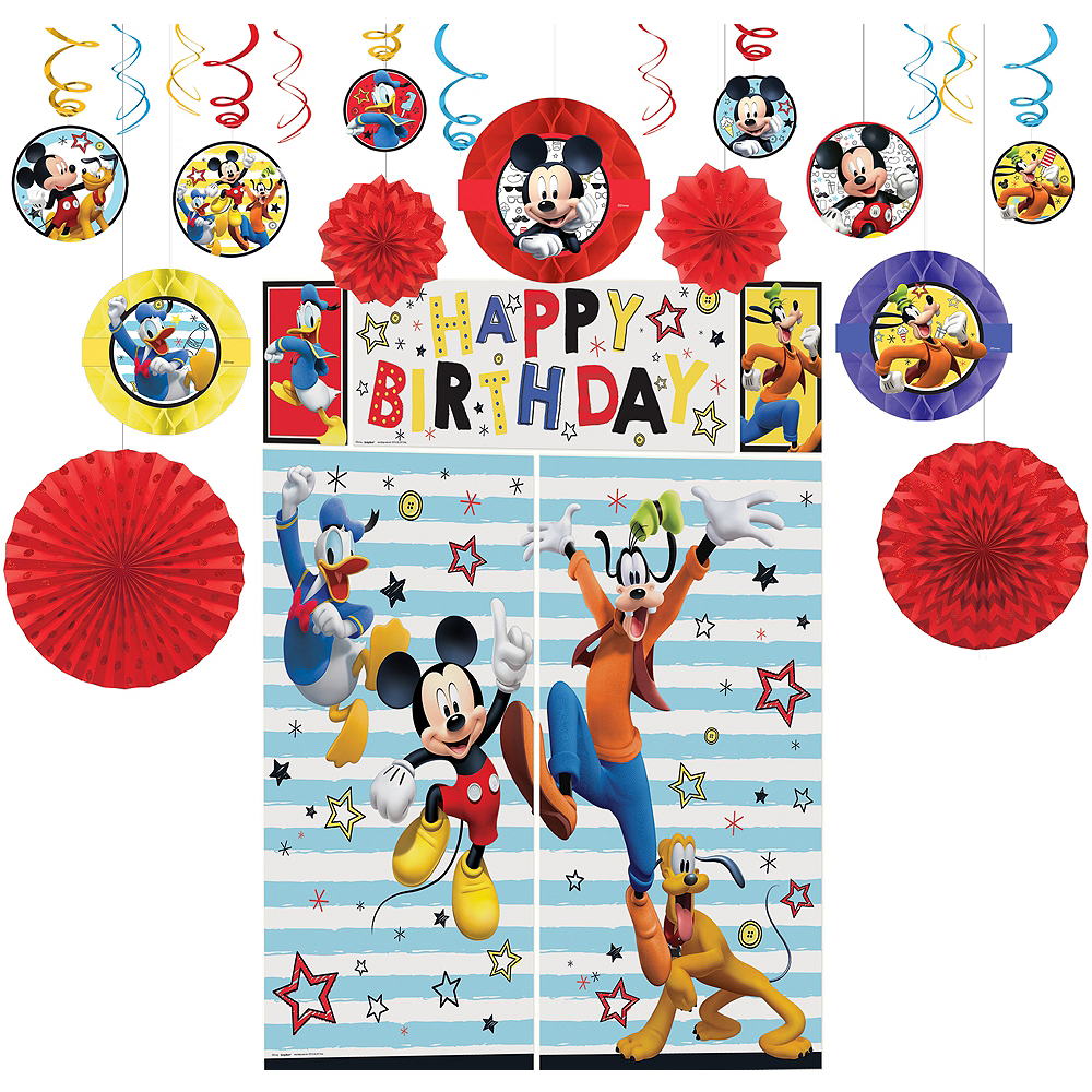 Mickey Mouse Decorating Kit Image #1