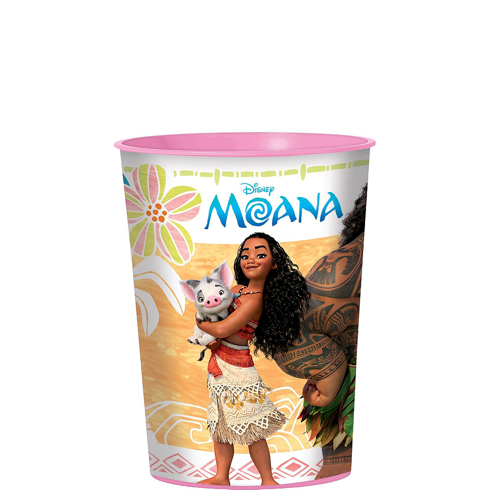 Moana Tableware Party Kit for 8 Guests Image #9