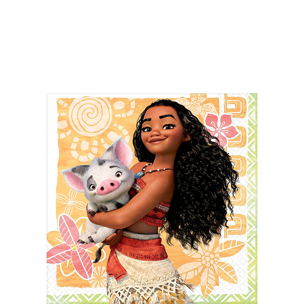 Moana Tableware Party Kit for 24 Guests Image #4