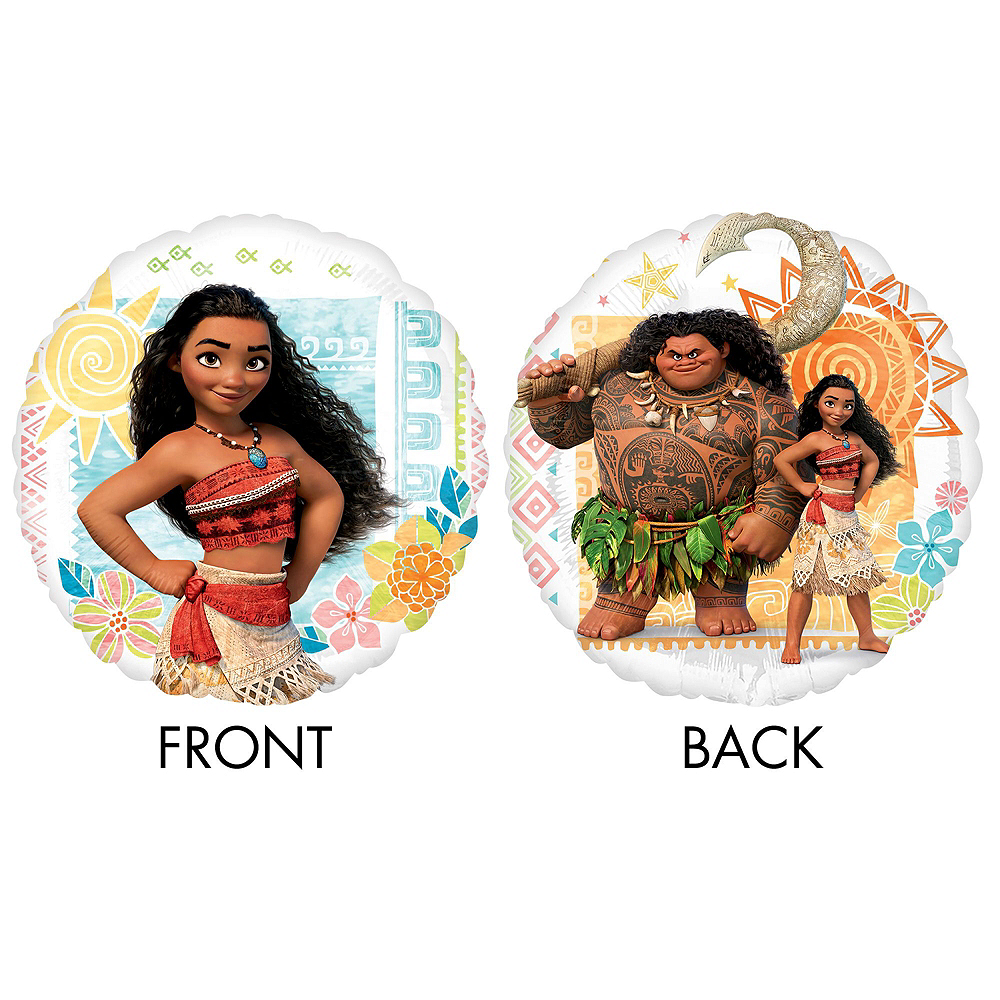 Moana Tableware Party Kit for 24 Guests Image #10